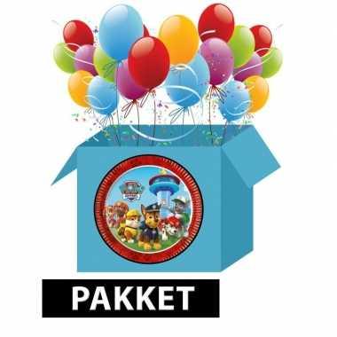 Paw patrol kinderfeest pakket- feestje!