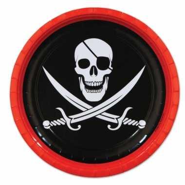 Piraat feest bordjes- feestje!