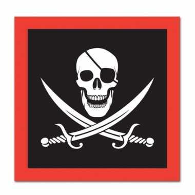 Piraat feest servetten feestje