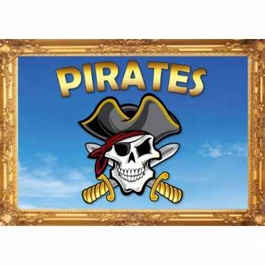 Piraten feest thema posters feestje