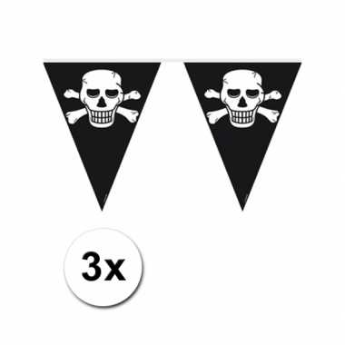 Piratenfeest vlaggenlijnen- feestje!