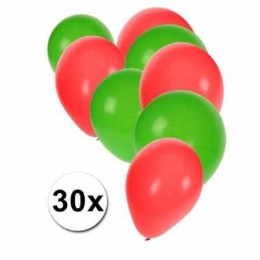 Portugese feest ballonnen 30 st feestje