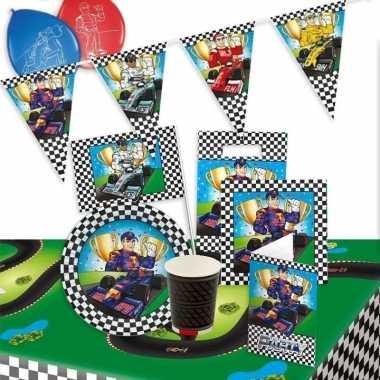 Race/formule 1 thema kinderfeest pakket- feestje!