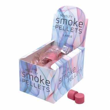 Rode feest rook pluimen 2 st- feestje!