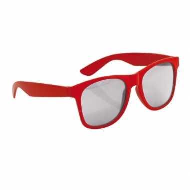 Rode kinder feest- en zonnebril wayfarerfeestje!