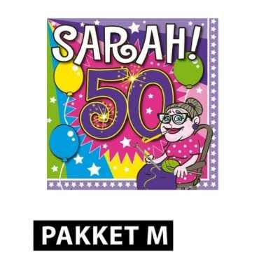 Sarah verjaardag versiering feestpakket- feestje!