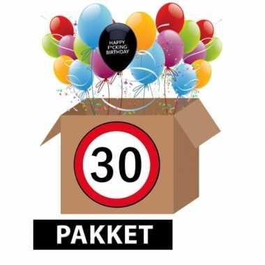 Sarcastisch 30 jaar feestpakket- feestje!
