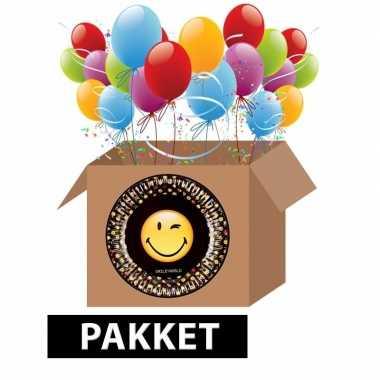 Smiley feest pakket- feestje!