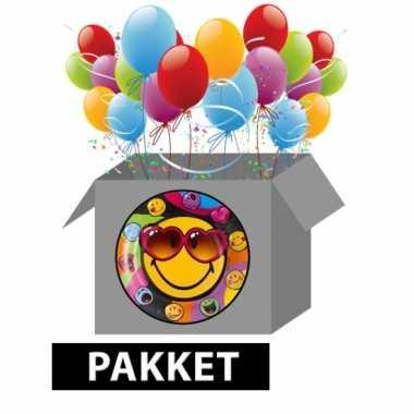 Smiley feestpakket- feestje!