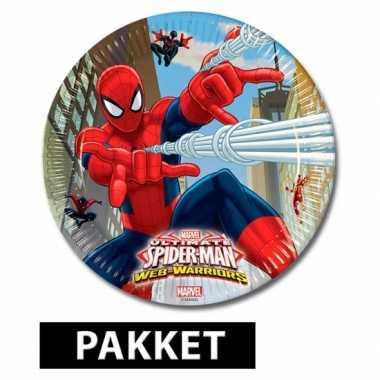 Spiderman feestje pakket- feestje!