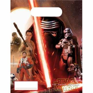 Star wars feestzakjes 6 stuks- feestje!