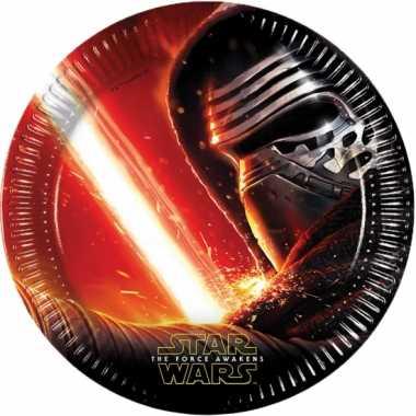 Star wars partijtje feestbordjes 16x feestje