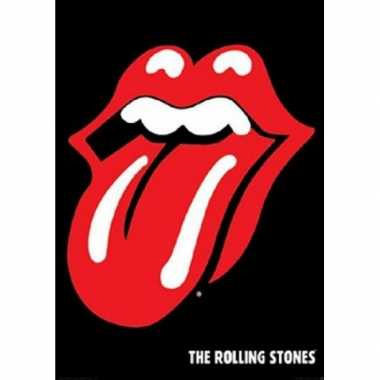 Themafeest poster rolling stones feestje