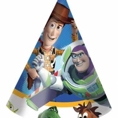 Toy story feest hoedjes 6 stuks feestje