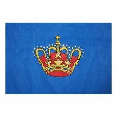Vlag van de koning 150 x 90 cm kinderfeestje versiering- feestje!