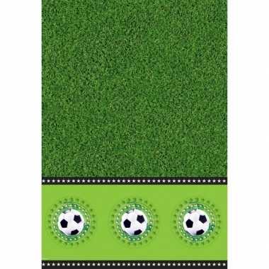 Voetbal feest tafelkleed 130 x 180 cm- feestje!