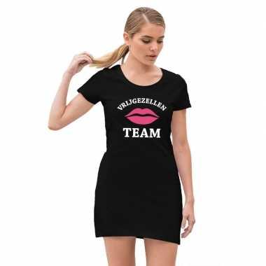 Vrijgezellenfeest team jurkje zwart voor dames- feestje!