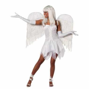 Wit feest jurk dames feestje