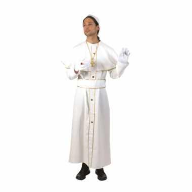 Wit feest kostuum kardinaal- feestje!