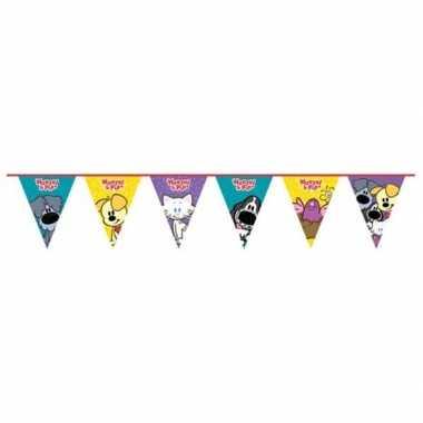 Woezel en pip themafeest vlaggenlijn 4 meter- feestje!