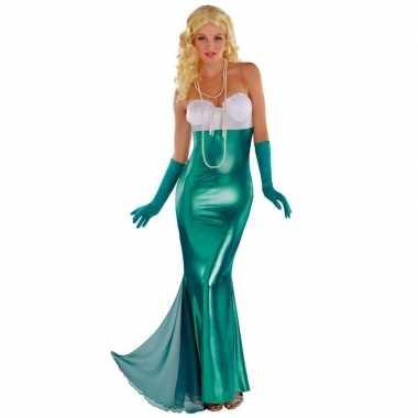 Zeemeermin/zeemeerminnen kostuum feestkleding voor dames- feestje!