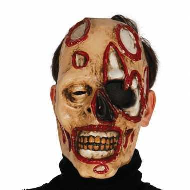 Zombie masker voor horror themafeest- feestje!