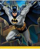 16x batman themafeest servetten 25 x 25 cm feestje
