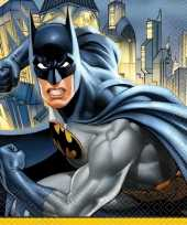 16x batman themafeest servetten 33 x 33 cm feestje