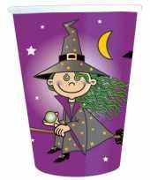 16x papieren bekertjes heksen feest feestje 10145039
