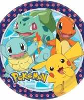 16x pokemon themafeest eetbordjes 22 8 cm feestje