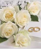 20x tafel diner lunch servetten 33 x 33 cm bruiloft huwelijk feest print feestje