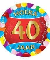 40 jaar feest onderzetters feestje