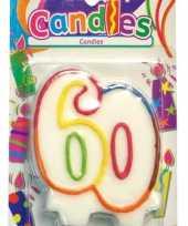 60 jaar feest kaars feestje