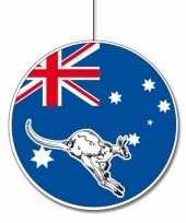 Australie feestversiering hangend 28 cm feestje