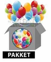 Ballonnen feestpakket versiering feestje