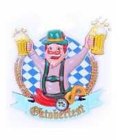 Bierfeest wandbord hans 44 cm feestje