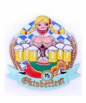 Bierfeest wandbord heidi 44 cm feestje