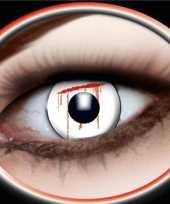 Bloedende ogen feestlenzen feestje