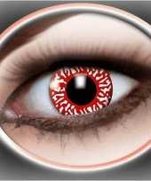 Bloederige ogen feestlenzen feestje