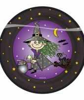 Bordjes voor een heksenfeest feestje