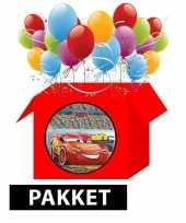 Cars kinderfeestje pakket feestje