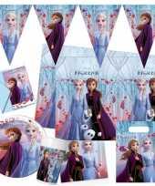 Disney frozen 2 kinderfeest pakket voor 2 8 personen feestje