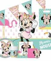 Disney minnie mouse kinderfeestje feestpakket 6 12 personen feestje