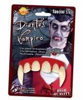 Dracula feest gebitten voor volwassenen feestje