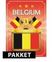 Ek belgie feestartikelen pakket feestje