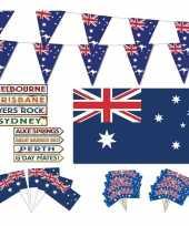 Feestartikelen australie thema versiering xl pakket feestje