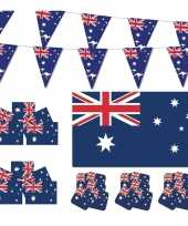 Feestartikelen australie versiering pakket feestje 10114088