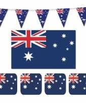 Feestartikelen australie versiering pakket feestje