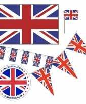 Feestartikelen groot brittannie versiering pakket feestje