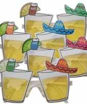 Feestbril mexicaanse tequila feestje